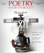 Poetry Northwest Issue Eight cover