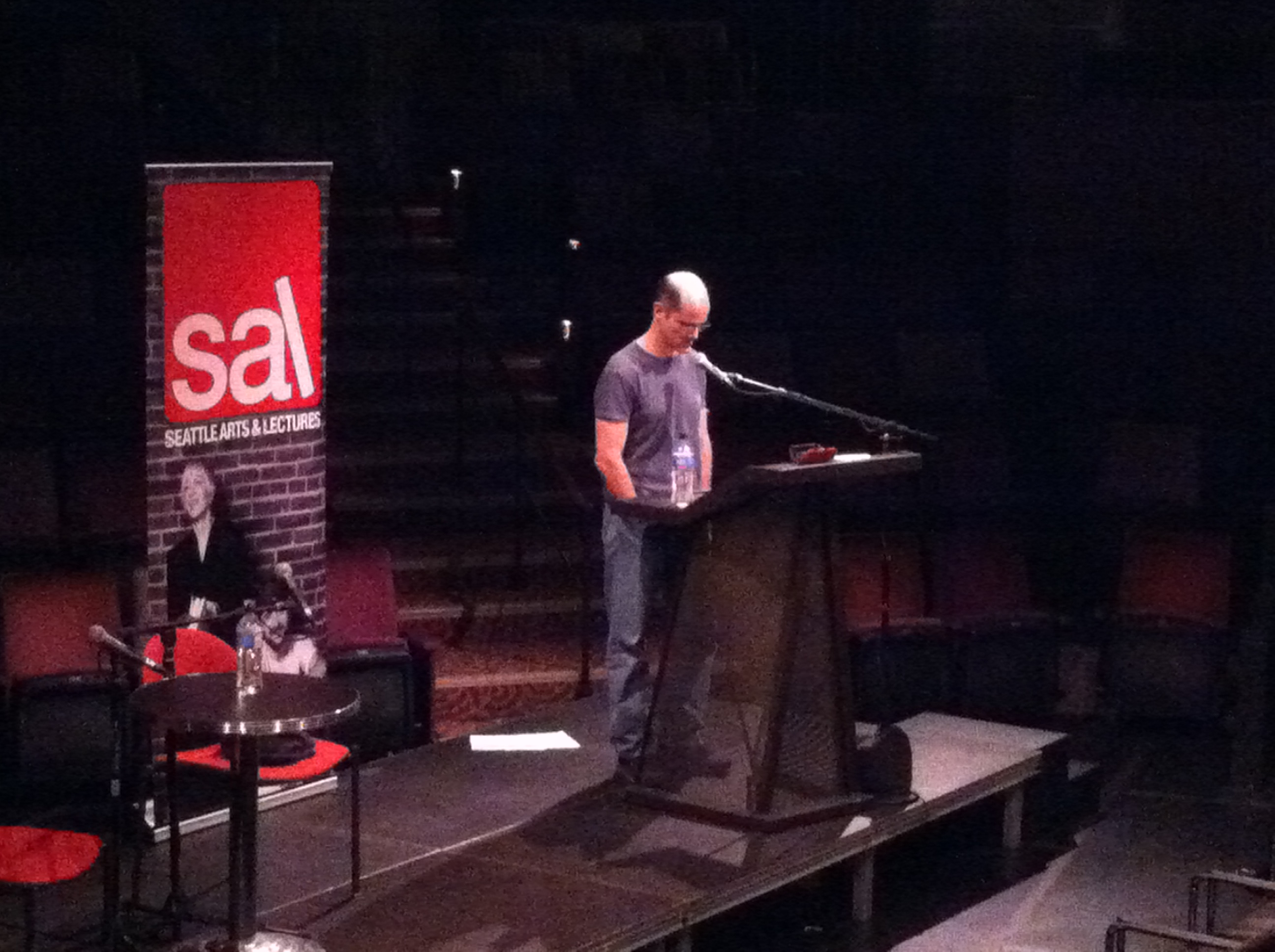 Bob Hicok reads for Seattle Arts & Lectures on February 13, 2014